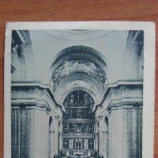 Postales: MONASTERIO DEL ESCORIAL - INTERIOR DE LA IGLESIA - MADRID. Lote 50876157