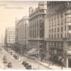 Postales: MADRID AVENIDA DE PI MARGALL. Lote 7277704