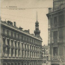 Postales: MADRID CALLE SEVILLA ESCRITA . Lote 51071905
