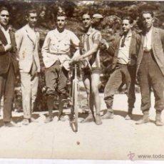 Postales: POSTAL FOTOGRÁFICA. CICLISMO, CICLISTA. ALVARO REDACTOR GRÁFICO. MADRID. SIN CIRCULAR.. Lote 51185435