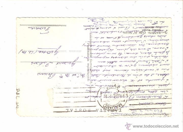 Postales: MADRID CALLE DE SEVILLA - Foto 2 - 9977580