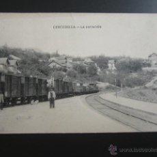 Postales: POSTAL MADRID. CERCEDILLA. LA ESTACIÓN. . Lote 51353115