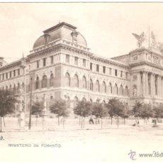 Postales: MADRID MINISTERIO DE FOMENTO. Lote 9003584