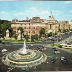 Postales - MADRID - FUENTE PLAZA EMPERADOR CARLOS V - 51461872