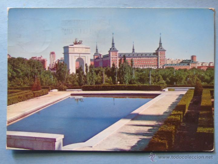 Postal De Madrid Ano 1959 Arco Del Triunfo Y Comprar Postales De