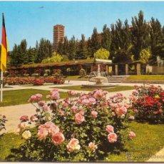 Cartoline: MADRID, PARQUE DEL OESTE, ROSALEDA - ESCUDO DE ORO Nº 32 - CIRCULADA. Lote 51672715