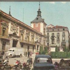 Postales: POSTAL, MADRID, PLAZA DE LA VILLA, AYUNTAMIENTO, CIRCULADA. Lote 51883689