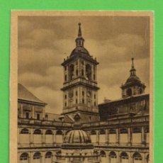 Postales: POSTAL. - MONASTERIO DEL ESCORIAL - PATIO DE LOS EVANGELISTAS - SIN CIRCULAR.. Lote 51963801