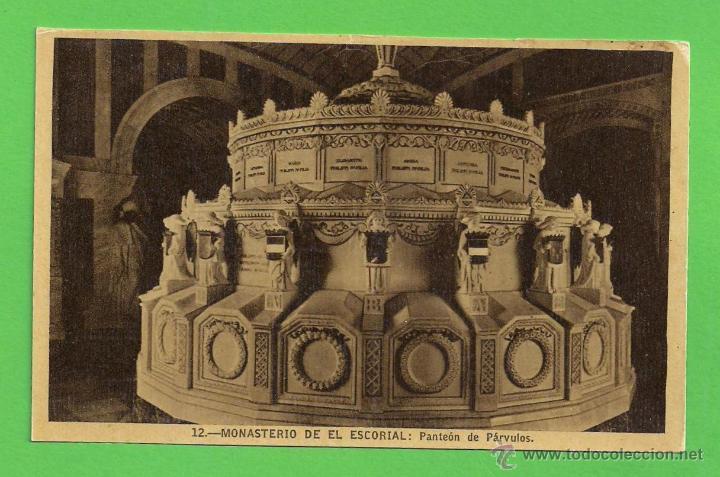 TARJETA POSTAL - MONASTERIO DEL ESCORIAL: PANTEÓN DE PÁRVULOS - SIN CIRCULAR. (Postales - España - Comunidad de Madrid Antigua (hasta 1939))