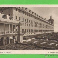 Postales: TARJETA POSTAL - MONASTERIO DEL ESCORIAL: JARDÍN DE LOS FRAILES - SIN CIRCULAR.. Lote 51965225