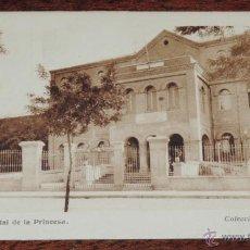 Postales: POSTAL DE MADRID.COLECCIÓN IBYS N º14. HOSPITAL DE LA PRINCESA. NO CIRCULADA. REVERSO CON PUBLICIDAD. Lote 52013729