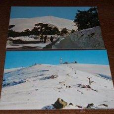 Cartes Postales: PUERTO DE NAVACERRADA ALT. 1860M. ALTO GUARRAMILLAS Y TVE, CAMINO SMIT, SIN CIRCULAR. Lote 52207050