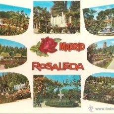 Cartoline: MADRID, ROSALEDA, VARIAS VISTAS - BEASCOA Nº 230 - ESCRITA. Lote 52360281