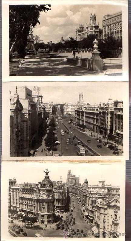 Postales: BLOC POSTAL FOTOGRAFIAS ARTISTICAS RECUERDO DE MADRID. EDICIONES DOMINGUEZ. AÑOS 40 - Foto 3 - 52369676
