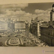 Postales: TARJETA POSTAL PUERTA SOL MADRID. Lote 52395306