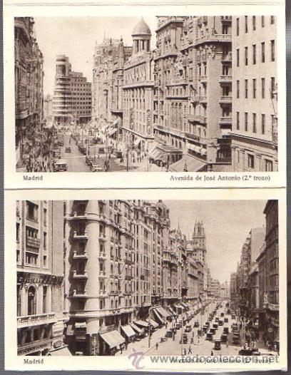 Postales: BLOC POSTAL MADRID. 20 TARJETAS POSTALES. HUECOGRABADO HAUSER Y MENET - Foto 5 - 52539049