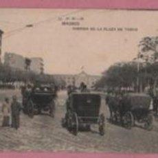 Postales: MUY BUENA POSTAL DE MADRID AVENIDA DE LA PLAZA DE TOROS - Nº 52 DE H.M.-M - CARRUAJES -. Lote 52602072