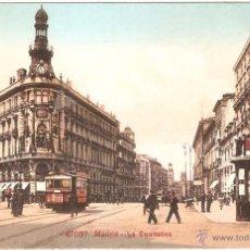 Postales: MADRID LA EQUITATIVA. Lote 11768547