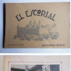 Postales: EL ESCORIAL. SEGUNDA SERIE. SERRANO HIJO DE NICOLAS. Lote 52650016