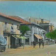 Postales: VILLALBA, MADRID, AVENIDA DEL GENERALISIMO. Lote 52694414