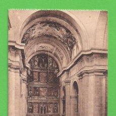 Postales: TARJETA POSTAL - INTERIOR DE LA IGLESIA, EL ESCORIAL - SIN CIRCULAR.. Lote 52748291