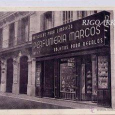 Postales: MADRID.- PERFUMERÍA MARCOS. Lote 52852724