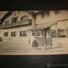 Cartes Postales: CERCEDILLA MADRID ENTRADA AL CHALET COL. POSTALES ALPINAS CLICHE ASCARZA. Lote 52864454