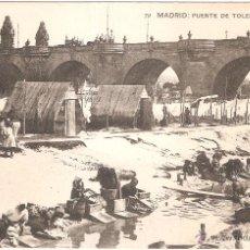 Postales: MADRID PUENTE DE TOLEDO. Lote 52894546