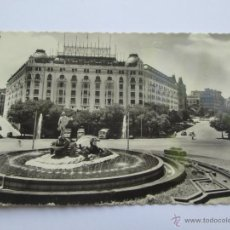 Postales: MADRID FUENTE DE NEPTUNO, FONTAINE, FOUNTAIN. 1958. Lote 52973604