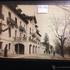 Postales: EL ESCORIAL - REINA VICTORIA HOTEL - FOTOGRAFICA - (39038). Lote 52978300
