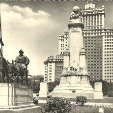Postales: MADRID - Nº 14. PLAZA DE ESPAÑA - CIMER - CIRCULADA - 1953. Lote 52985540