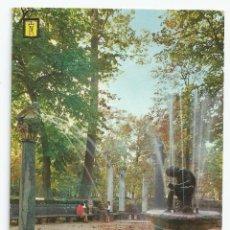 Postales: POSTAL ARANJUEZ - JARDIN DE LA ISLA, FUENTE DEL NIÑO DE LA ESPINA - 1967. Lote 53054584