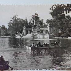 Postales: MADRID. EL RETIRO. ESTANQUE. EDICIONES F. MOLINA. Lote 53069752
