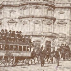 Postales: CIBELES PALACIO DE LINARES-ALCALA-RECUERDOS DE MADRID.DIARIO 16.Nº28,38,39-LOTE 3 POSTALES. Lote 53133629