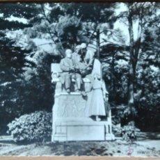Postales: MADRID - RETIRO - MONUMENTO A CAMPOAMOR. Lote 53182500