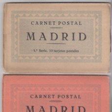 Postales: 3 SERIES CARNET POSTAL MADRID. Lote 53227486