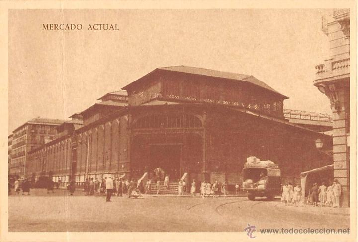 MADRID.- NUEVO MERCADO DE LA CEBADA- (Postales - España - Comunidad de Madrid Antigua (hasta 1939))