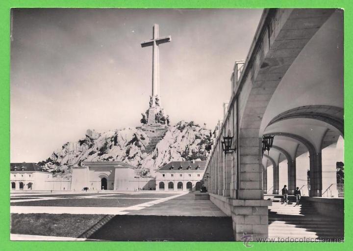 TARJETA POSTAL - SANTA CRUZ DEL VALLE DE LOS CAIDOS - SIN CIRCULAR. (Postales - España - Comunidad de Madrid Antigua (hasta 1939))