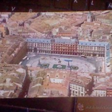 Postales: PLAZA MAYOR MADRID ED IBERIA LINEAS AEREAS S/C 1960 CON COCHES Y ANIMADA . Lote 53442558