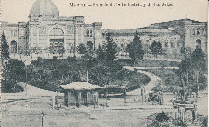 N 11873 Postal Madrid Palacio De La Industria Comprar
