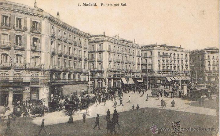 Postal 1 madrid puerta del sol fot comprar for Puerta del sol madrid fotos