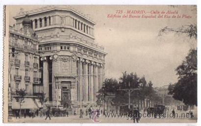 Tarjeta postal madrid calle de alcala edifici comprar for Edificio de la comunidad de madrid