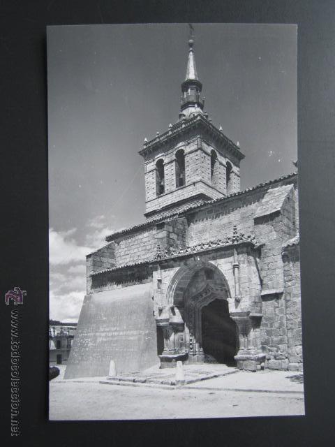 POSTAL MADRID. VILLA DEL PRADO. IGLESIA PARROQUIAL. (Postales - España - Madrid Moderna (desde 1940))