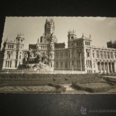 Postales: MADRID FUENTE DE LA CIBELES Y PALACIO DE COMUNICACIONES. Lote 53872388