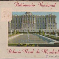 Postales: BLOQUE 10 POSTALES PALACIO REAL MADRID - PATRIMONIO NACIONAL - GARCIA GARRABELLA - 1959 - ARTE. Lote 54284951