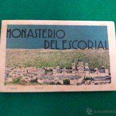 Postales: MONASTERIO DEL ESCORIAL .- 18 POSTALES .- 1ª SERIE FOTO L. ROISIN. Lote 54425704