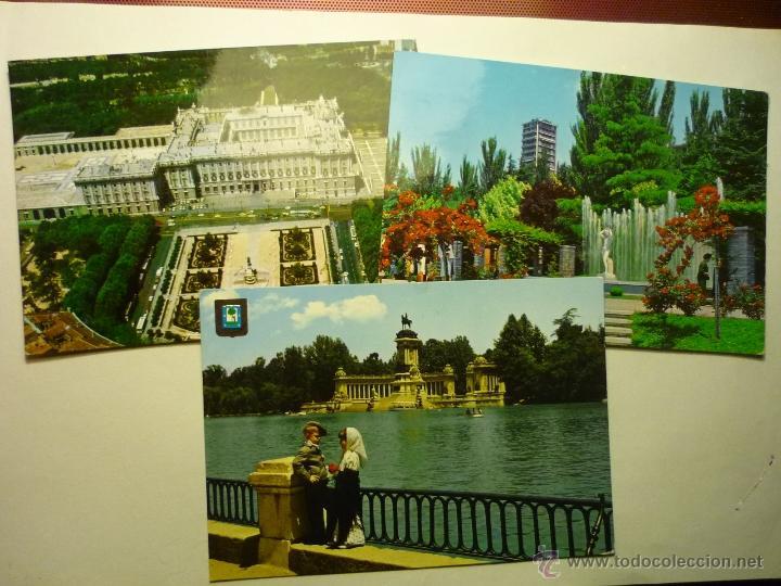 LOTE POSTALES MADRID .- CIRCULADAS BB (Postales - España - Madrid Moderna (desde 1940))