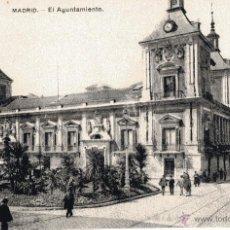 Postales: MADRID. AYUNTAMIENTO. ANIMADA. FOT. LACOSTE. SIN CIRCULAR. Lote 54469127