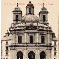 Postales: MADRID. IGLESIA DE SAN FRANCISCO EL GRANDE. C. A Y L.. SIN CIRCULAR.. Lote 54470340