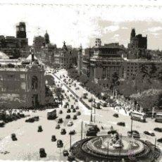 Postales: MADRID. 2 POSTALES. PLAZA DE CIBELES Y CALLE DE ALCALA. VEANSE IMAGENES.. Lote 54515496